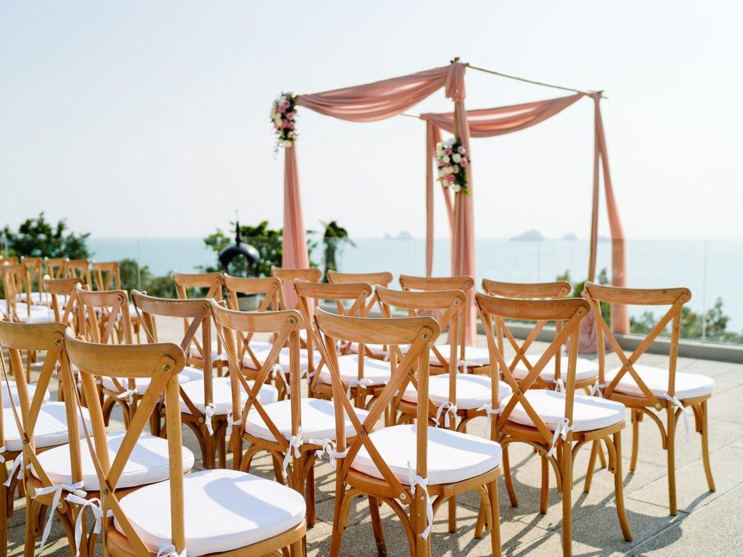 arche bambou mariage loué - Wood Concept Reception