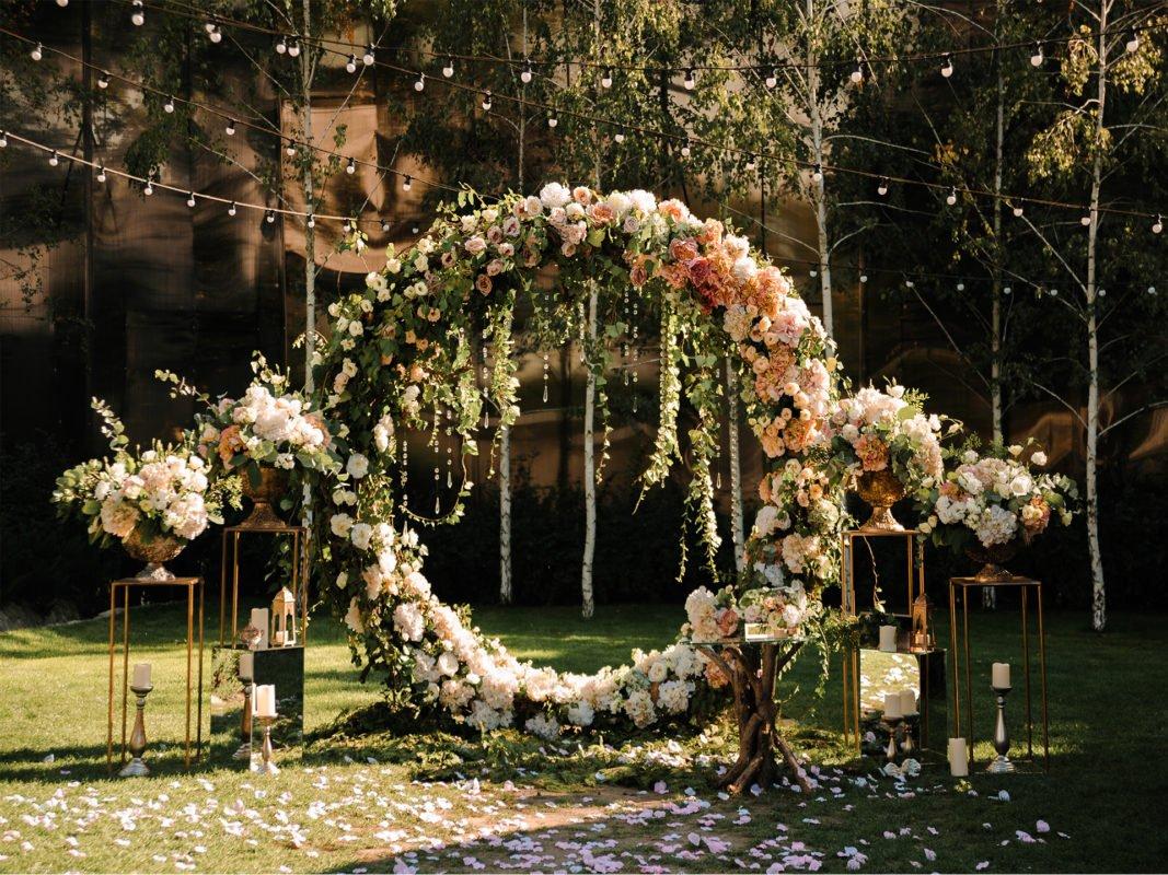 arches mariage herault