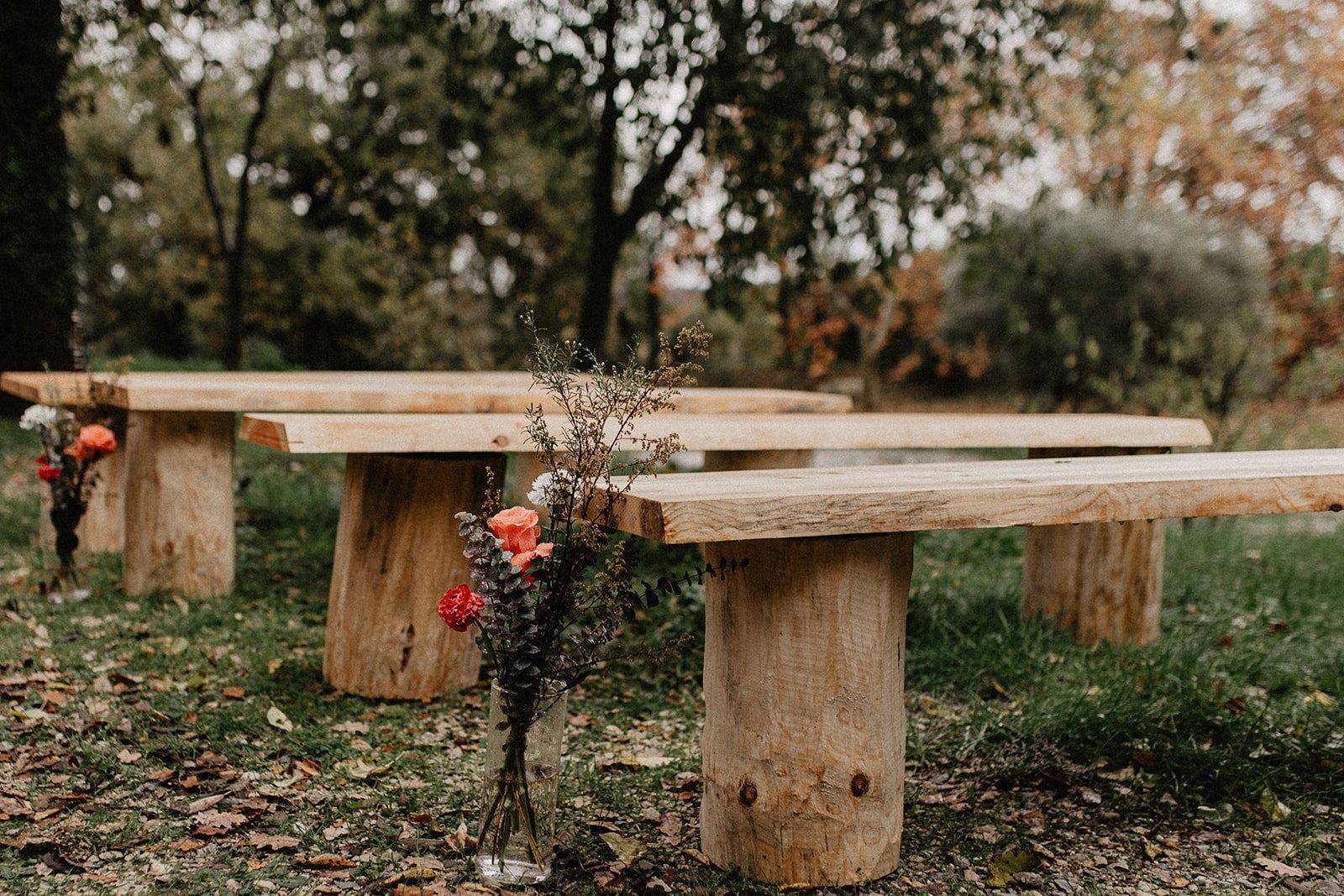 banc mariage cérémonie location