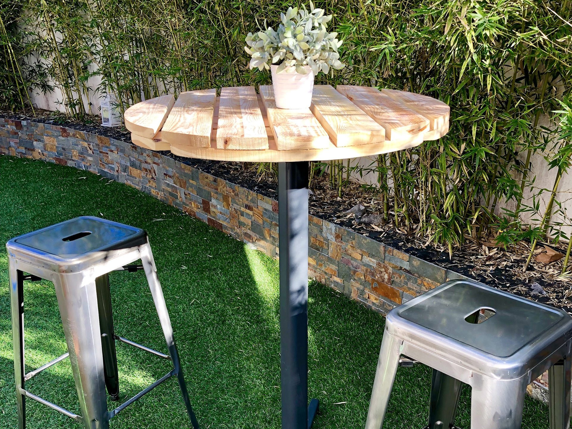 mangedebout tabouret cocktail mariage