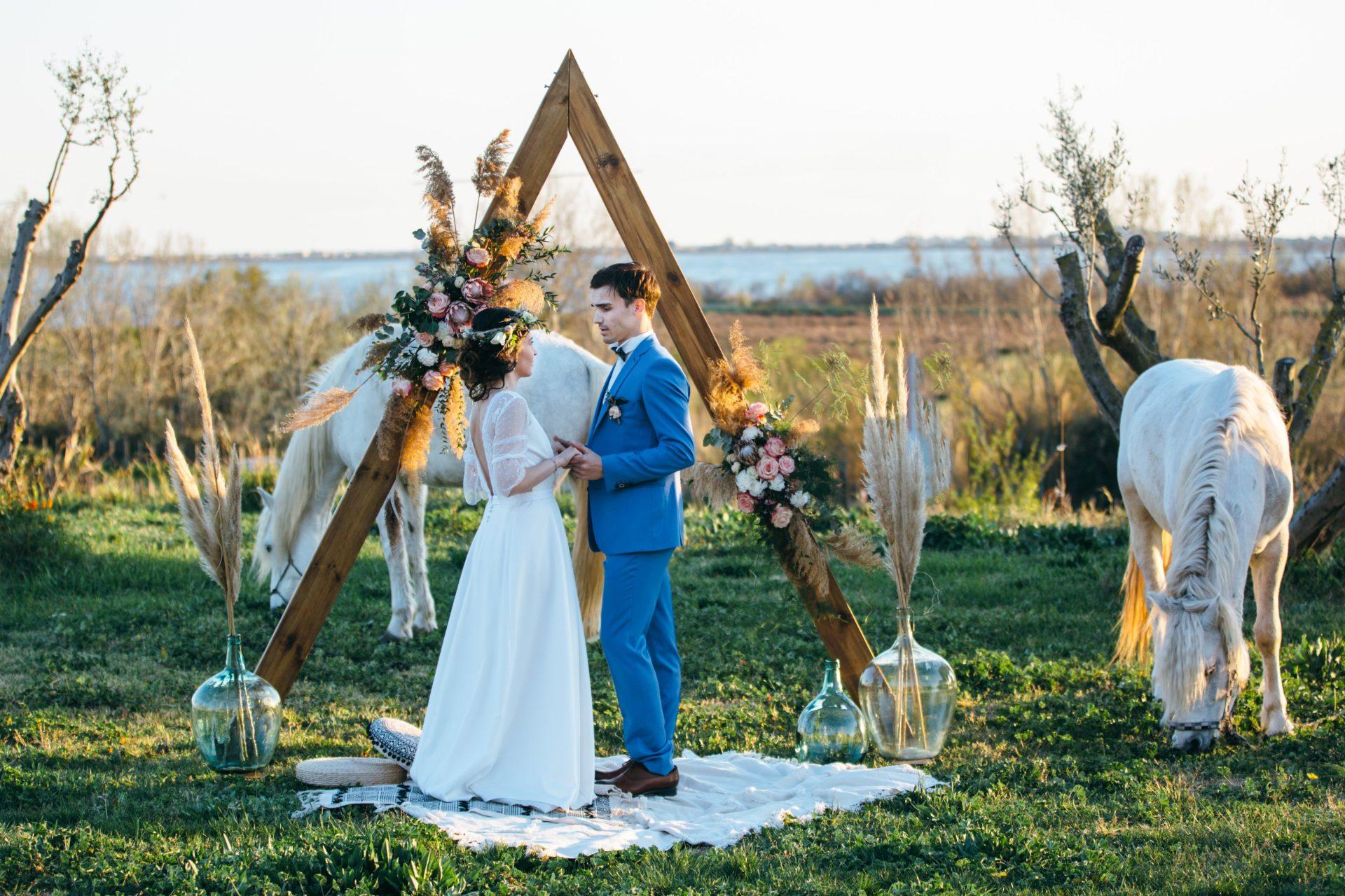 arche mariage cérémonie bohème location montpellier