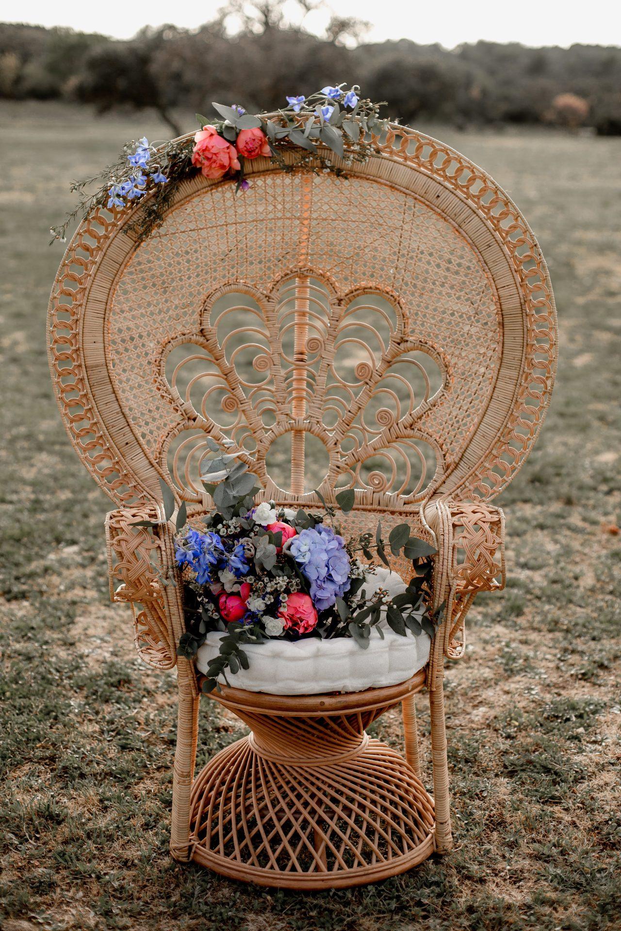 fauteuil Emmanuelle cérémonie mariage location occitanie