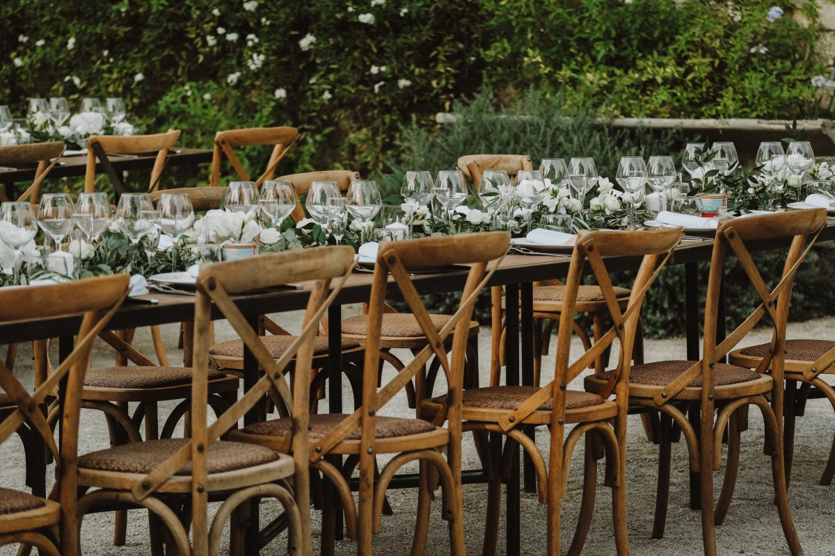 chaises bistrot bois location mariage repas