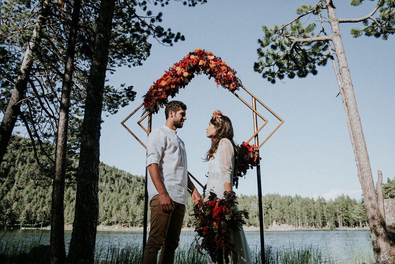 location arche mariage cérémonie laïque occitanie Hérault sud de France