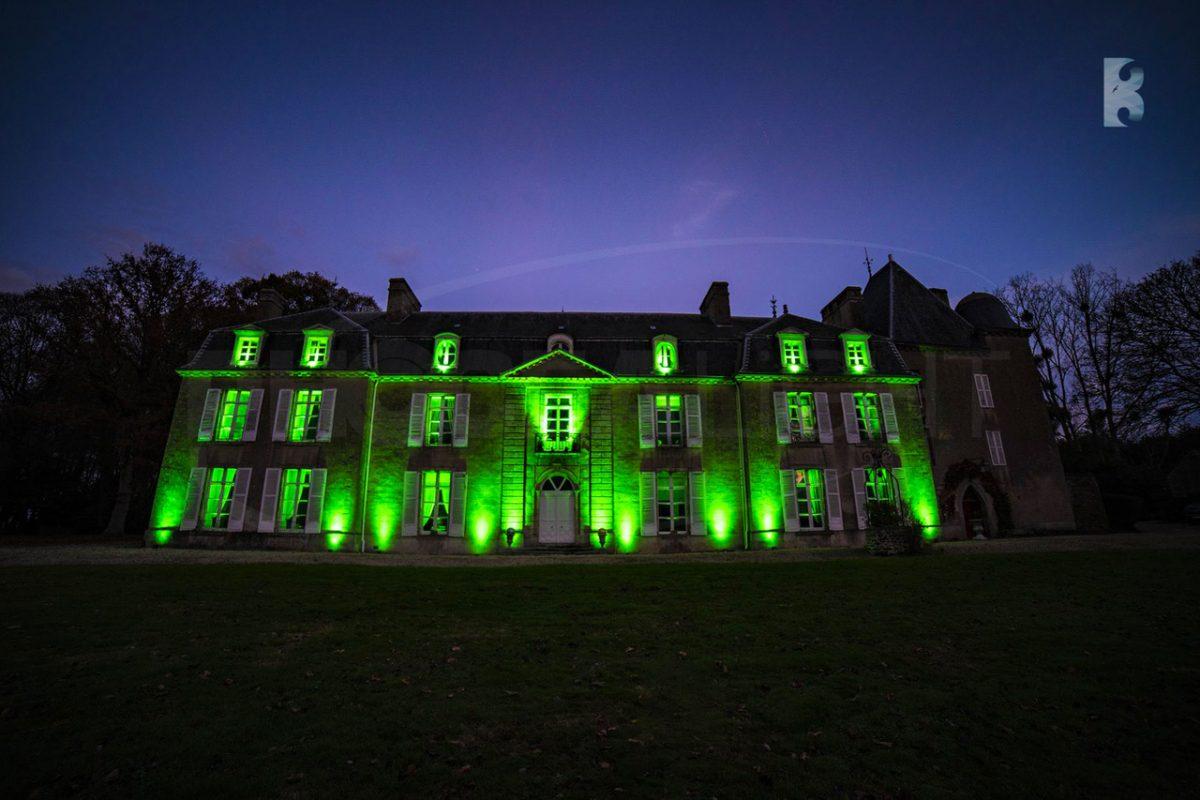 mise en lumière éclairage architectural location domaine mariage événementiel traiteur sud de France