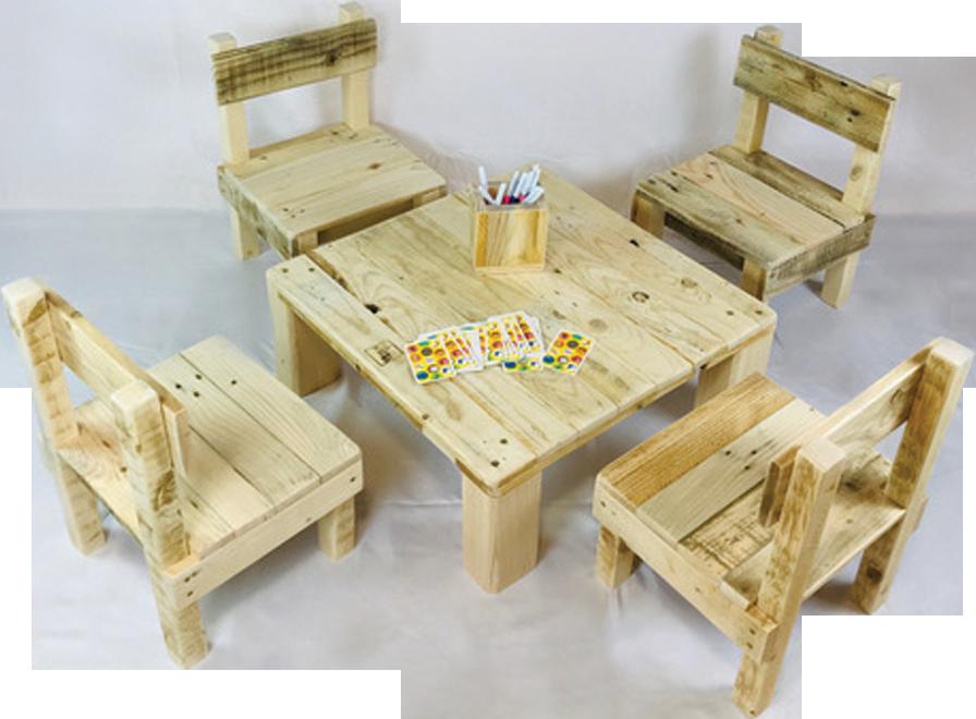 mobilier bois enfant location mariage événement sud de France décoration