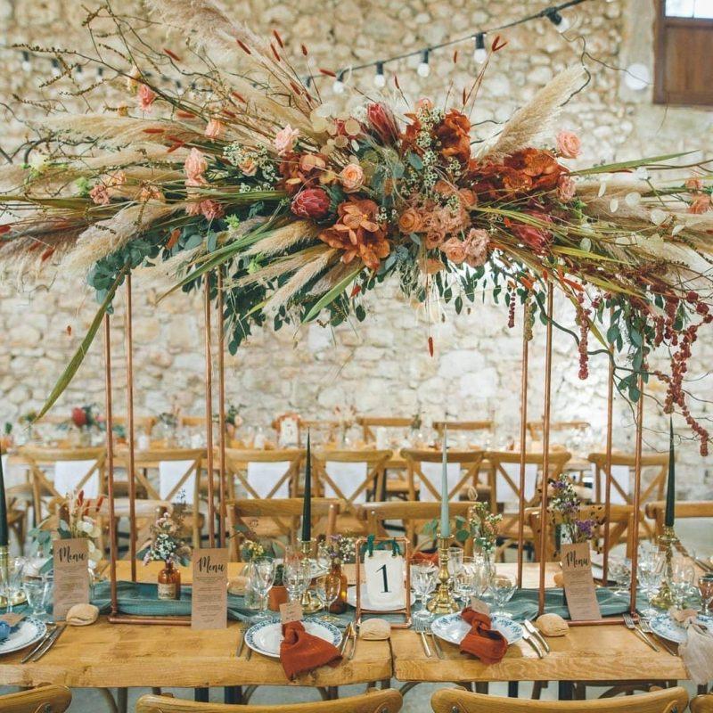 location mariage La Grangette - botanique et veilles dentelles, traiteur mariage mobilier bois